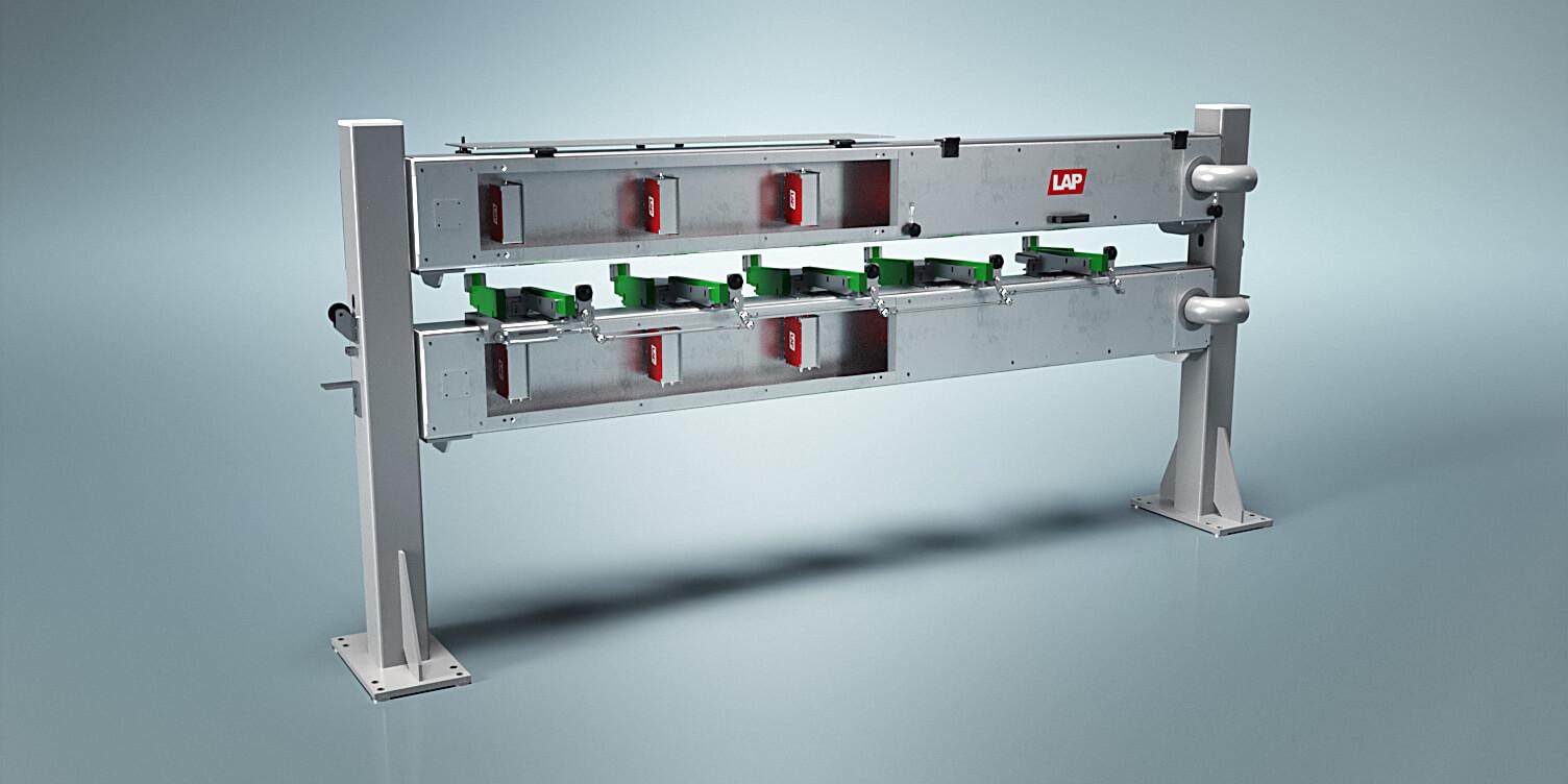 Unser berührungsloses Messsystem zur Prüfung der Geradheit von Stäben und Rohren während der laufenden Produktion.