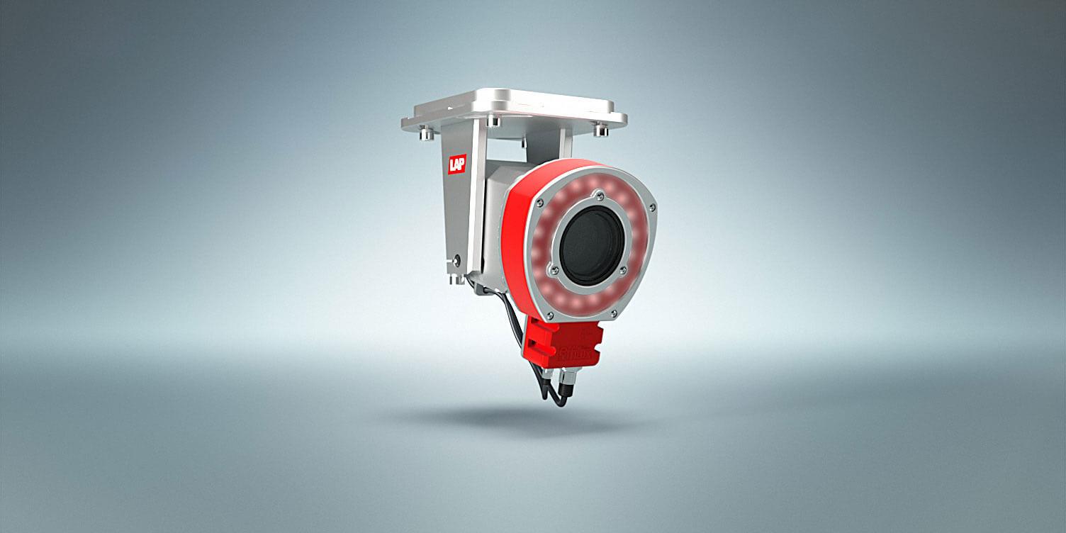 IR-Blitz und Kamera