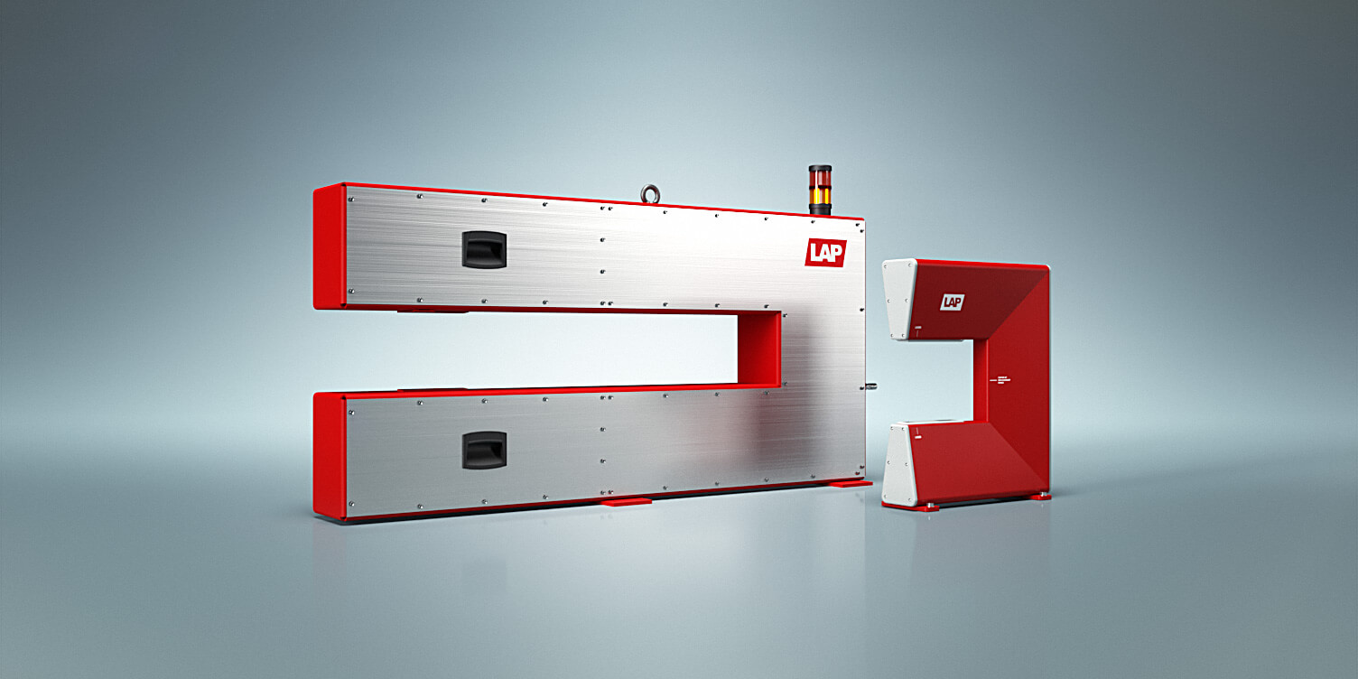 Using laser sensors, our measuring systems measure the thickness of steel strip and sheet during cold rolling.