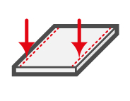 LAP measurement system detects edge-thickness of sheet metal and strip steel.