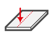 LAP measurement system detects strip-thickness of sheet metal and strip steel.