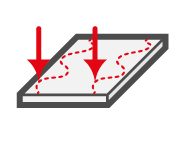 LAP measurement system detects thickness profile of sheet metal and strip steel.