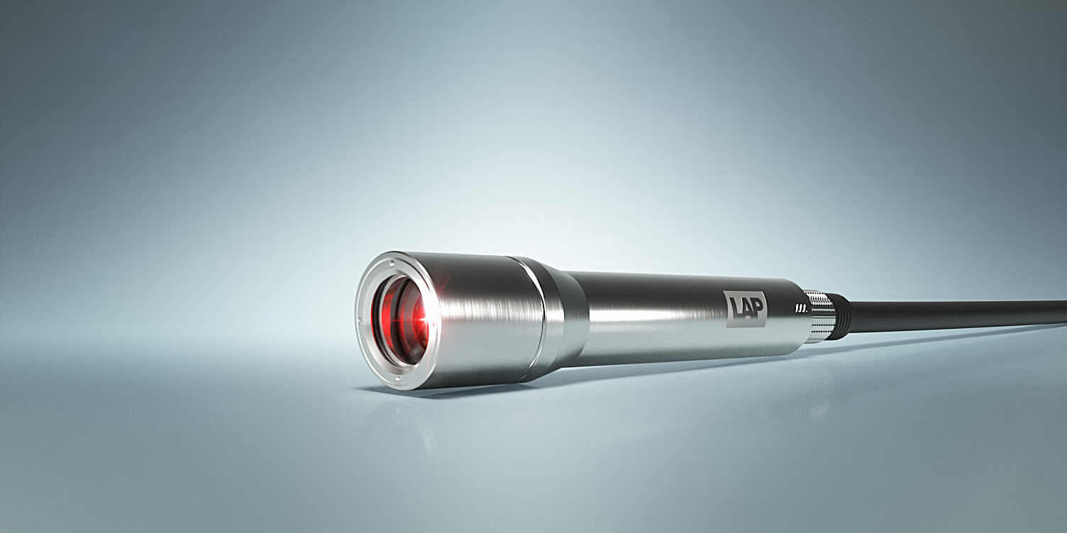 Illustration of a LAP XtrAlign HD laser