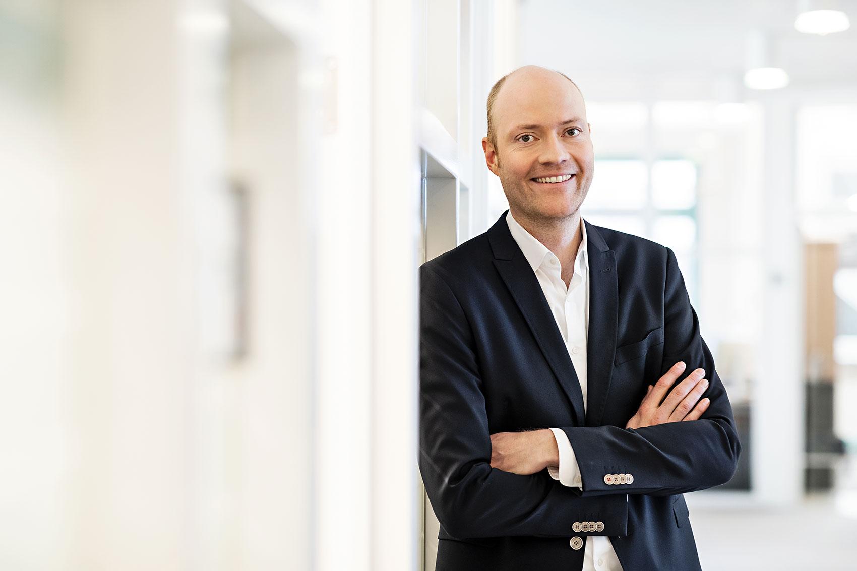 Jens Gauthier, CEO und Leitung Healthcare