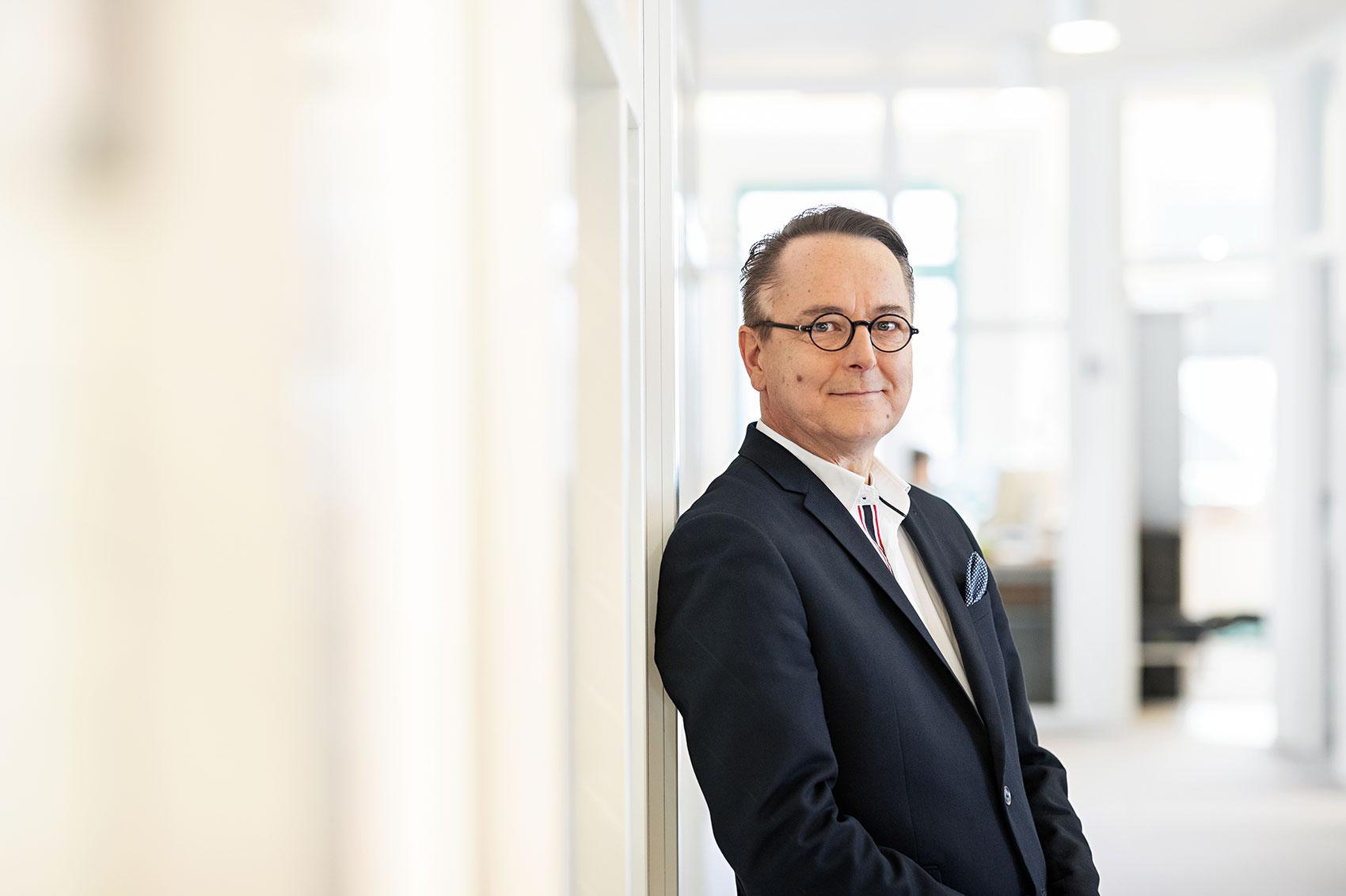Patrick Baars, Director Area Management Business Unit Healthcare